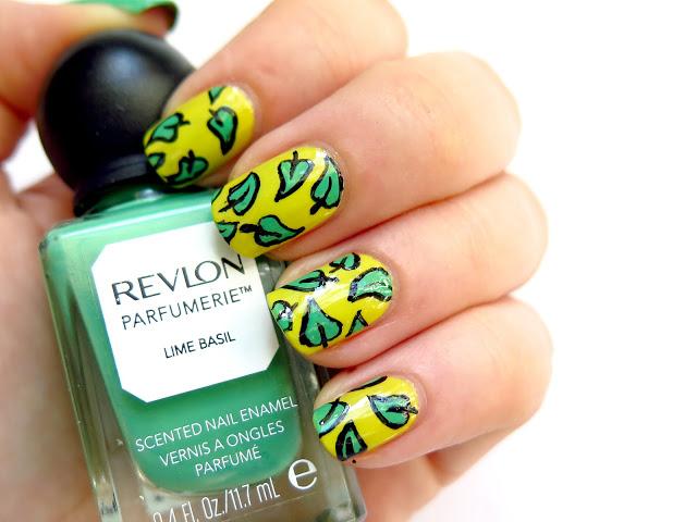 revlon parfumerie lime basil zielone paznokcie